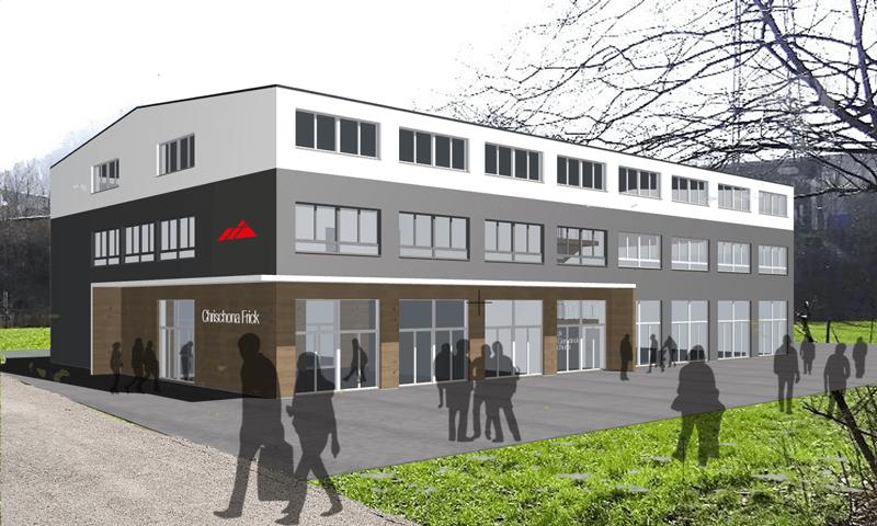 Gemeinde-pimpen Neue Fassade für Chrischona Frick, CH