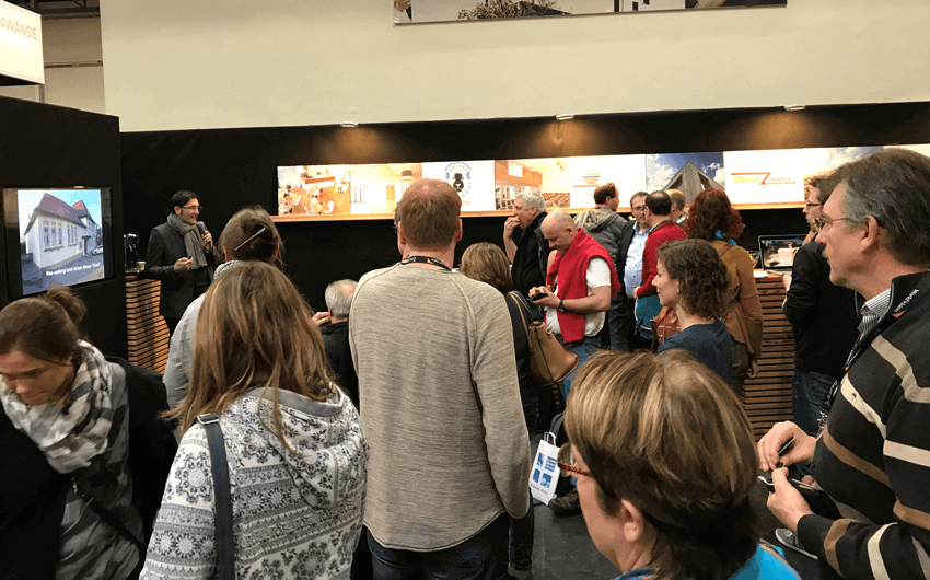 Messestand auf Willow-Leitungskongress 2018
