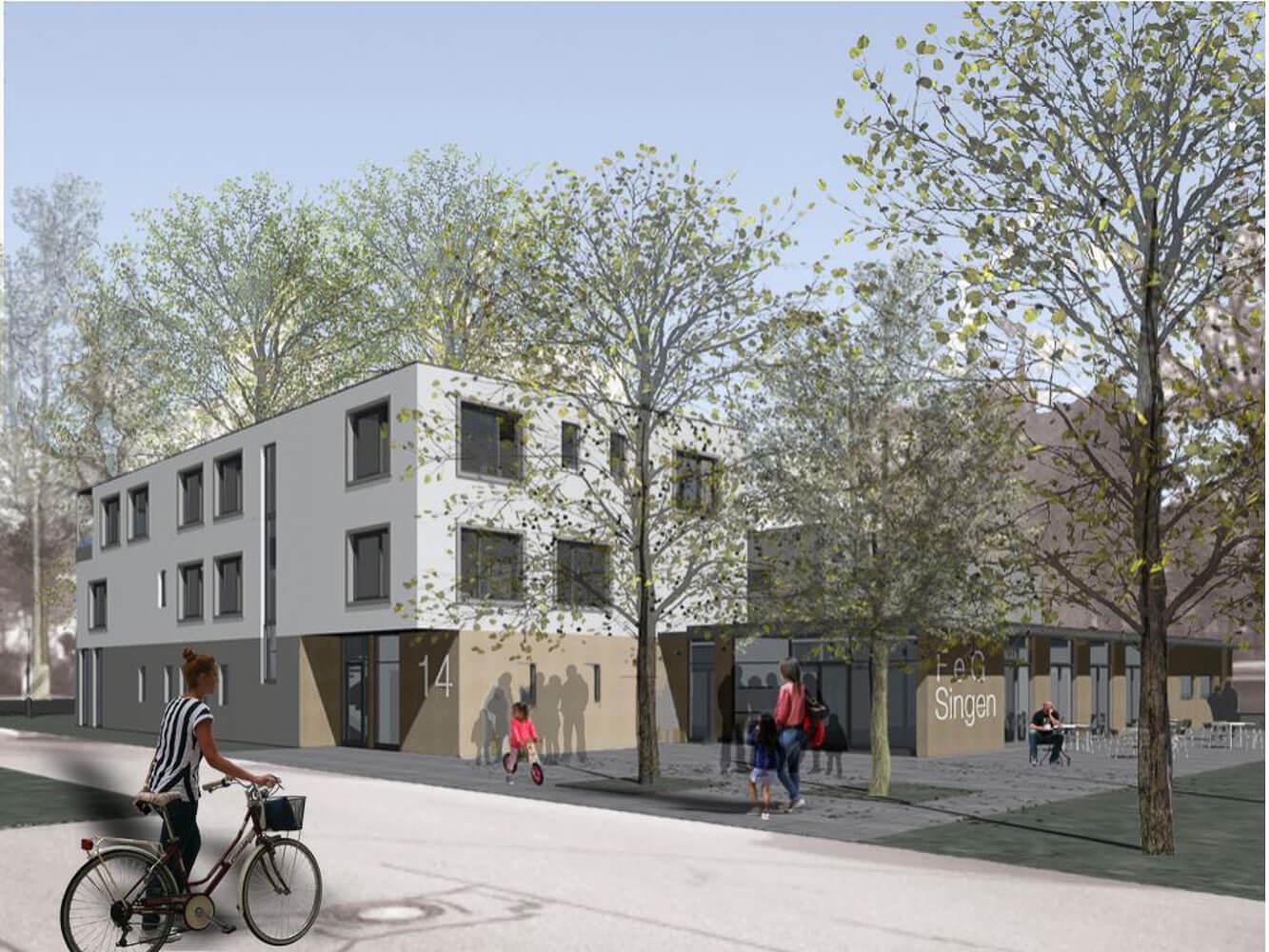 Entwurf Gemeindezentrum FeG Singen