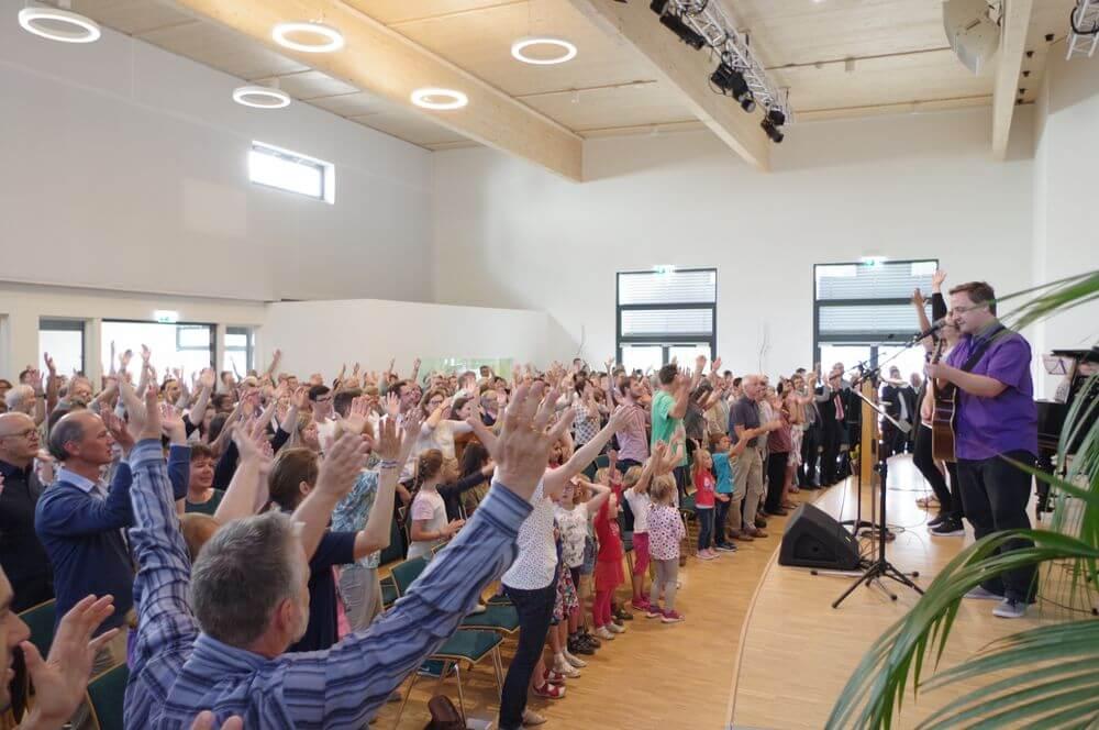 Gottesdienst in der FeG Singen