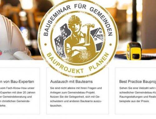 Bauseminar für Gemeinde-Bauprojekte am 7. Dezember 2019 in Augsburg