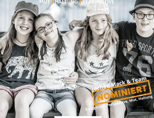 Nominierung beim Augsburger Medienpreis 2020